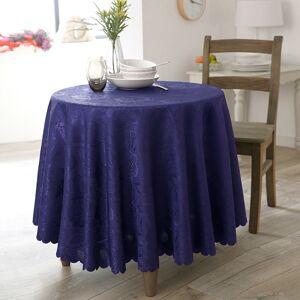 Blancheporte Damaškový ubrus temně modrá napron 50x150cm
